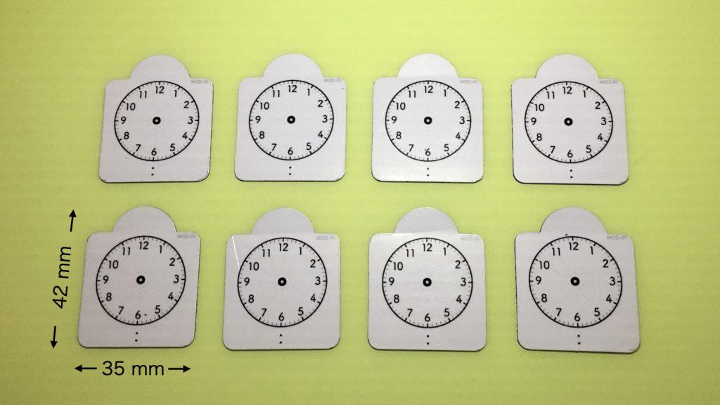 時計マグネット