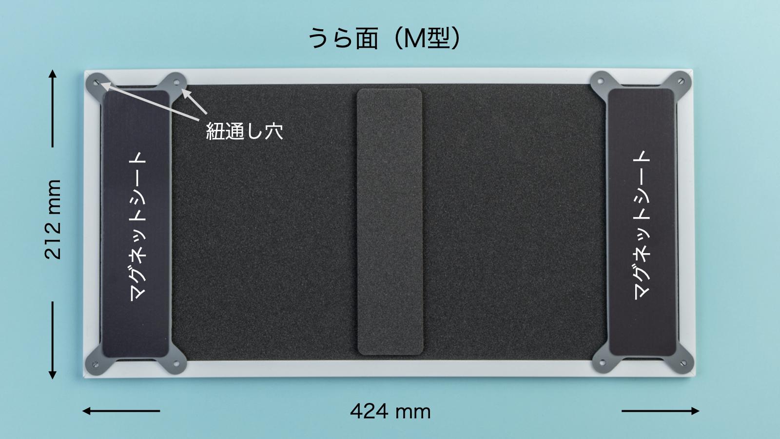 ユニットボードM型:うら面